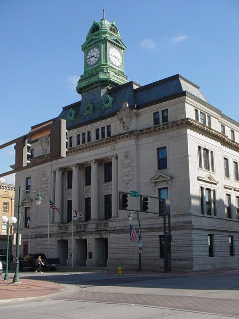 The Webster County Court house
