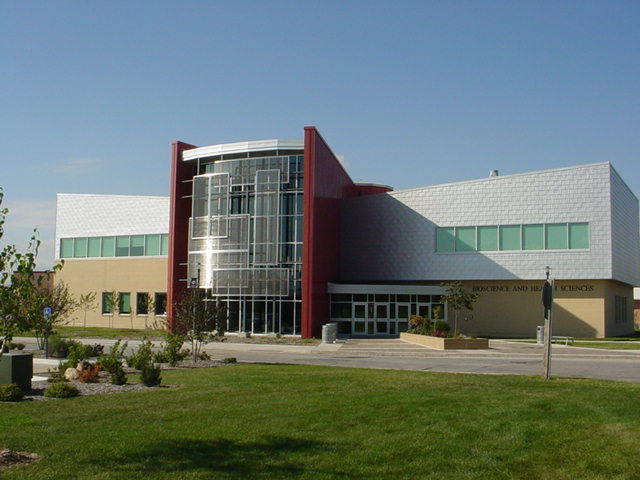 Iowa Central Community College new Biotech Building