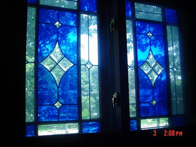 Stain Glass in landing